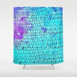 Cats New colour 153 Shower Curtain