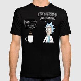 Purpose of coffee T-shirt