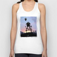 bane Tank Tops featuring Bane Kid by Andy Fairhurst Art