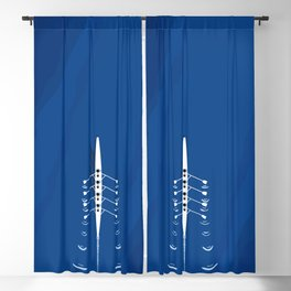 Aerial Rowing Boat | Teamwork Blackout Curtain