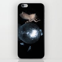 moth iPhone & iPod Skins featuring Moth by Ink Bird Art