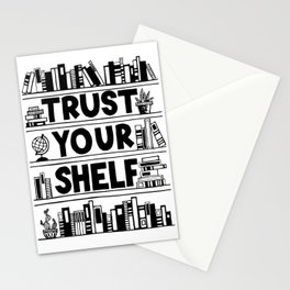 Trust Your Shelf Stationery Cards