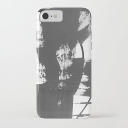 Black and white gallery wall art iPhone Case