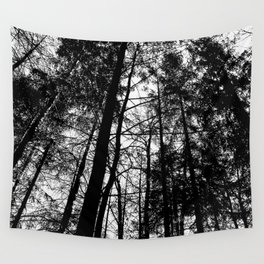 B/W Forest Wall Tapestry