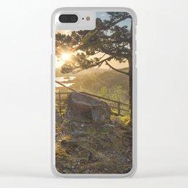 Sunrise in Gougane Barra Clear iPhone Case