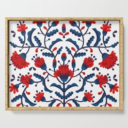 Mexican Floral Serving Tray