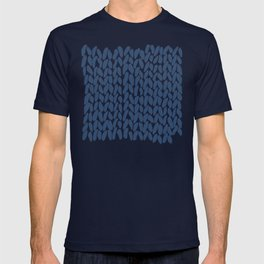 Half Knit Navy T-shirt