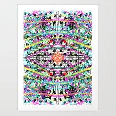 Day Glow Art Print