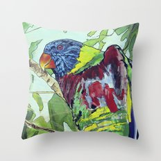 Paint by Numbers Throw Pillow