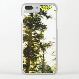 Forest Wonderland IV Clear iPhone Case