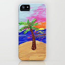 Palm Sunrise iPhone Case