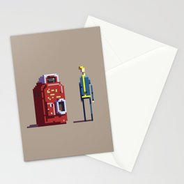 Vault boy and Nuka-Cola Stationery Cards