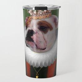 English Bulldog Art - Lucy Travel Mug