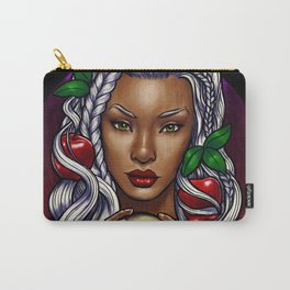 Snow White (black background) Carry-All Pouch