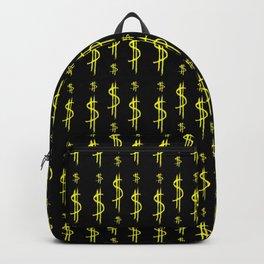 Symbol of dollar 4 Backpack