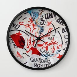 Riz, Menthe et Réglisse Wall Clock