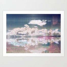 News from Uyuni_02 Art Print