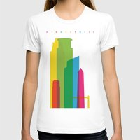 minneapolis T-shirts featuring Shapes of Minneapolis by Glen Gould
