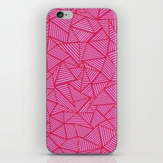 Ab Linear Hot Pink iPhone & iPod Skin