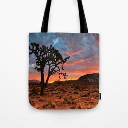 Joshua Tree Sunrise Tote Bag