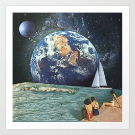 Earthly Currents Art Print