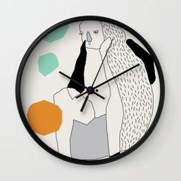 Talks Wall Clock