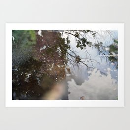Jumping Puddles Art Print