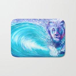 Lion Wave  - Live painting @ nw roots festival - reggae Bath Mat