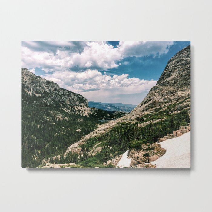 Sky Pond Metal Print