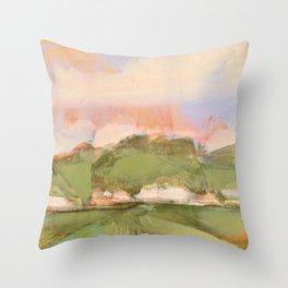 Joyous oaks Throw Pillow