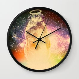 Off the Ground Wall Clock