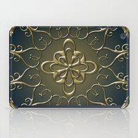 nemo iPad Cases featuring Golden Nemo Pattern by Britta Glodde