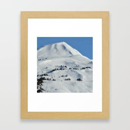 Back-Country Skiing  - VI Framed Art Print