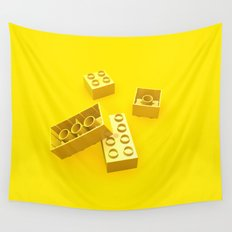 Duplo Yellow Wall Tapestry