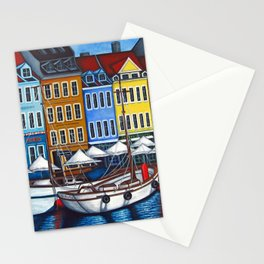 Colours of Nyhavn Stationery Cards