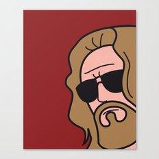 Pop Icon - The Dude Canvas Print