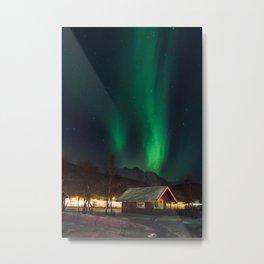 Under The Lights Metal Print