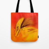 ghost Tote Bags featuring Ghost. by Mary Berg