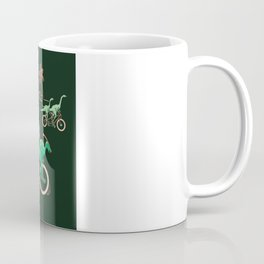 Dinosaurs on Bikes! Coffee Mug