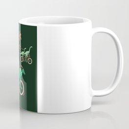Dinosaurs on Bikes! Coffee Mug