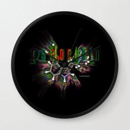 Psilocybin Wall Clock