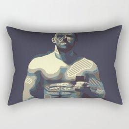 Man B1 Rectangular Pillow
