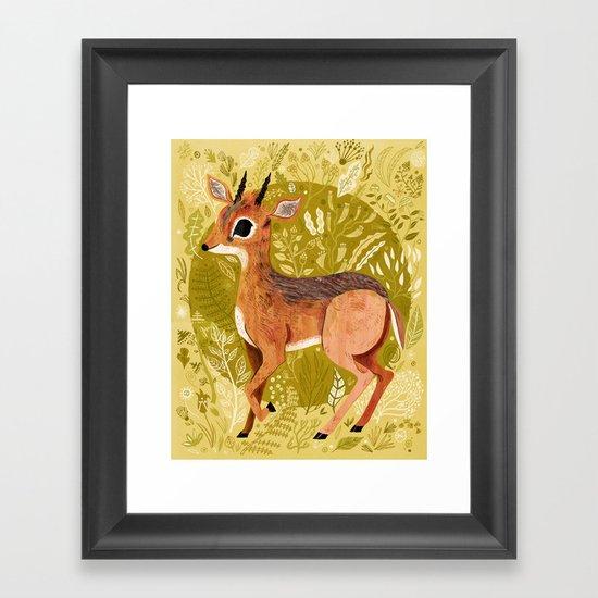 Dikdik! Framed Art Print