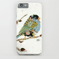 Cafe Swirly Bird 4 Slim Case iPhone 6s