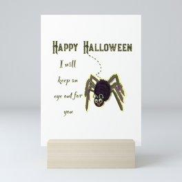 Halloween spider Mini Art Print