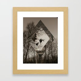 To love me is to drown Framed Art Print