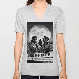 Hot Fuzz Unisex V-Neck