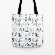 Pop Culture Clash Tote Bag