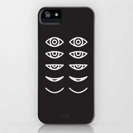 Eyes in Motion iPhone Case