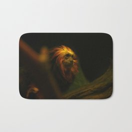 Monkey Photography Print Bath Mat